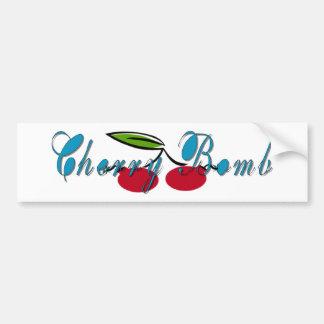 Cherry Bomb Bumper Sticker