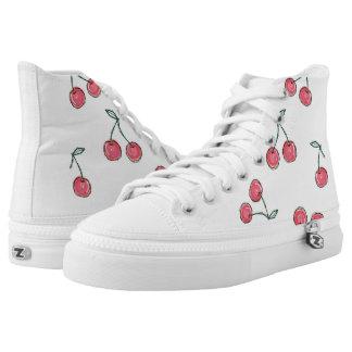 """ Cherry bomb"" High Tops"