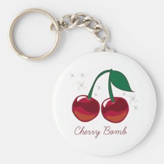 Cherry Bomb Key Ring