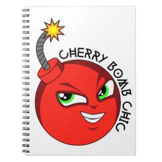 CHERRY BOMB NOTEBOOK