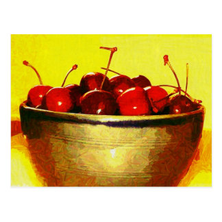 Cherry Bowl Postcard