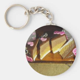 Cherry Cake Miniature Keychain
