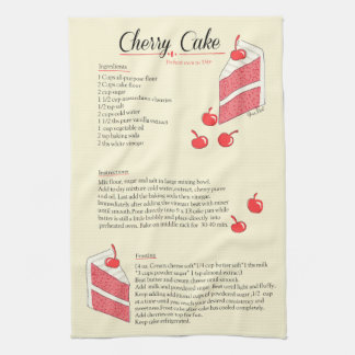Cherry Cake Towel
