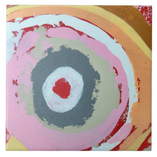 Cherry Chapstick 6 x 6 Ceramic Tile