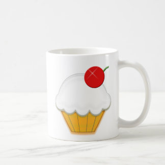 Cherry Cupcake Art Coffee Mug