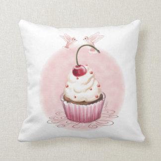 Cherry Cupcake Cushion