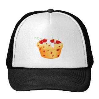 Cherry Cupcake Mesh Hat
