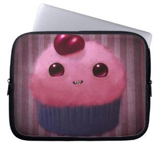 Cherry Cupcake Laptop Sleeves