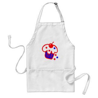 cherry cupcake standard apron