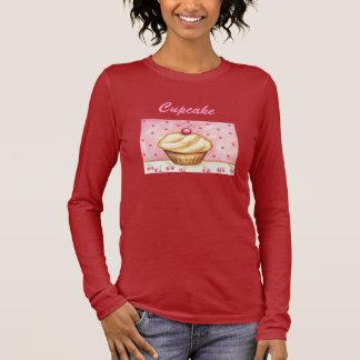 Cherry Cupcake Womens Shirt Top