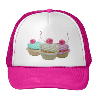 Cherry cupcakes cap