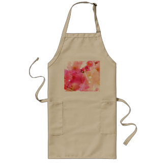 Cherry Flower Long Apron