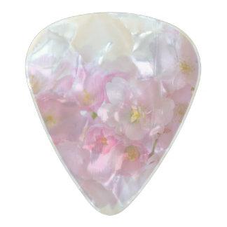 Cherry Flower Pearl Celluloid Guitar Pick
