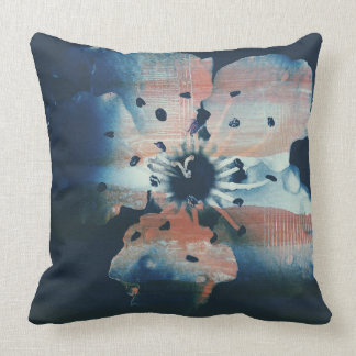 Cherry Flower Throw Pillow