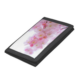 Cherry Flower Trifold Wallet