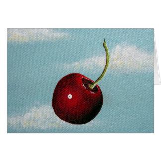Cherry Free Fall Card
