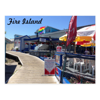 Cherry Grove, Fire Island Postcard