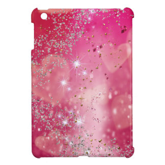 Cherry Heart Sparkle Cover For The iPad Mini