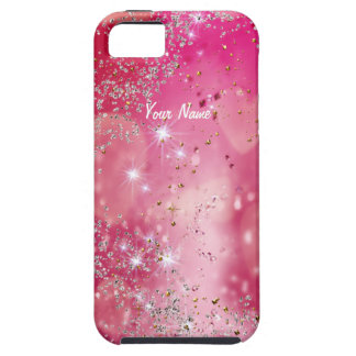 Cherry Heart Sparkle - Customize iPhone 5 Cover