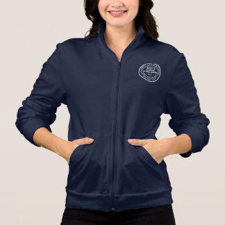 Cherry Lawn Dark Blue long sleeve sweatshirt