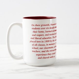 Cherry Lawn School Mug Red