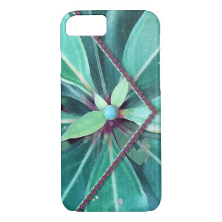 Cherry Leaves Clutch iPhone 8/7 Case