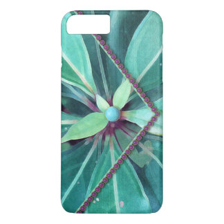 Cherry Leaves Clutch iPhone 8 Plus/7 Plus Case