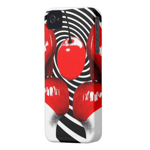 Cherry Lips BlackBerry Bold Case-Mate Barely There