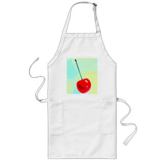 cherry long apron