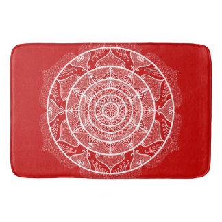 Cherry Mandala Bath Mat