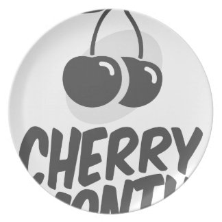 Cherry Month - Appreciation Day Plate