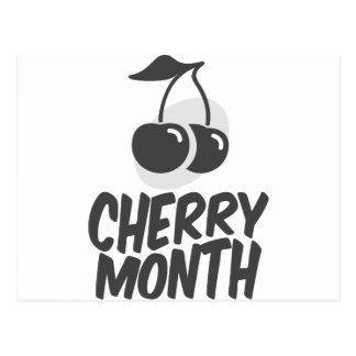 Cherry Month - Appreciation Day Postcard