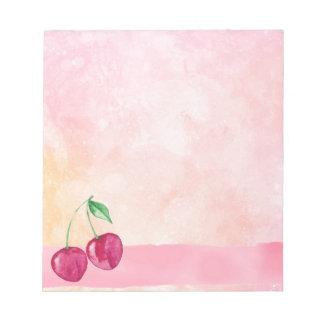Cherry Notepad