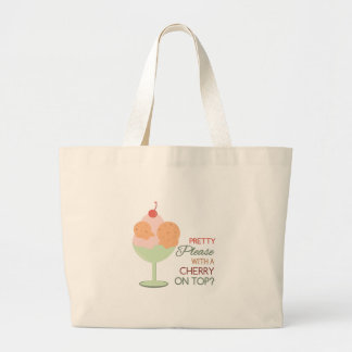 Cherry On Top Canvas Bags
