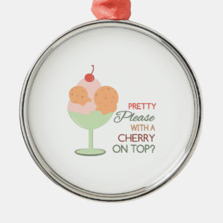 Cherry On Top Christmas Ornament
