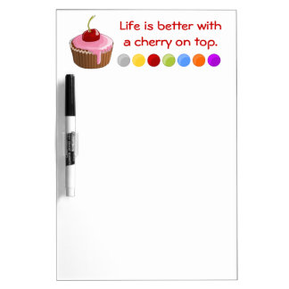 Cherry on top Dry-Erase whiteboards