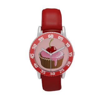Cherry on top wrist watches
