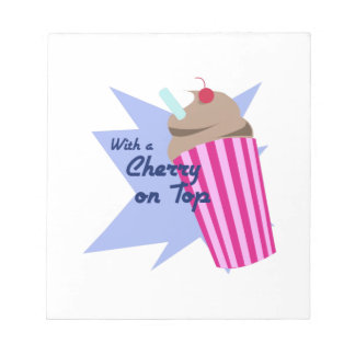 Cherry On Top Memo Notepads
