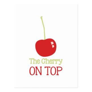 Cherry On Top Postcard
