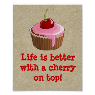 Cherry on top poster