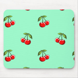 Cherry Pair Pattern Mouse Pad