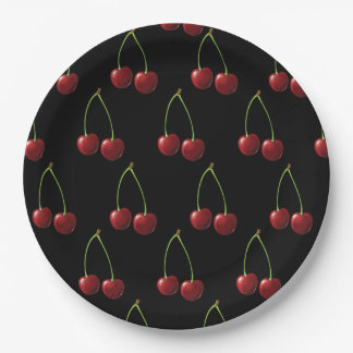 Cherry Paper Plate