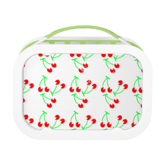 Cherry pattern fresh fruit lunch box