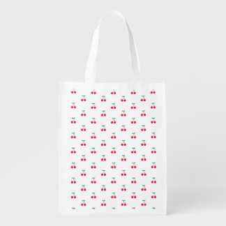 Cherry Pattern Reusable Bag