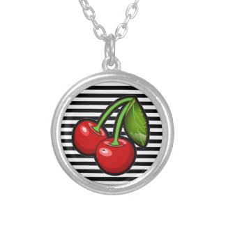 Cherry Pendant Necklace
