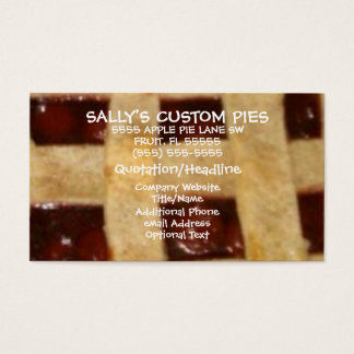 Cherry Pie Company Business Card
