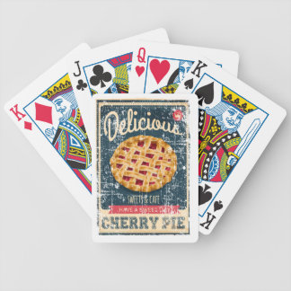 Cherry Pie Day - Appreciation Day Bicycle Playing Cards
