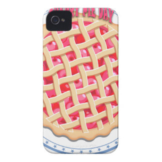 Cherry Pie Day - Appreciation Day iPhone 4 Cover