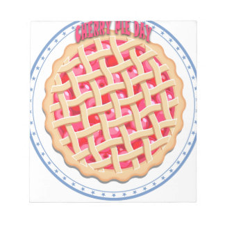 Cherry Pie Day - Appreciation Day Notepad