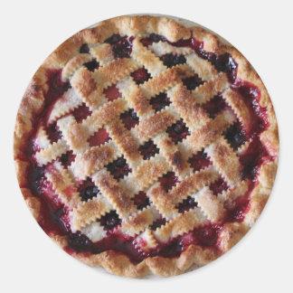 Cherry Pie Foodie Dessert Stickers